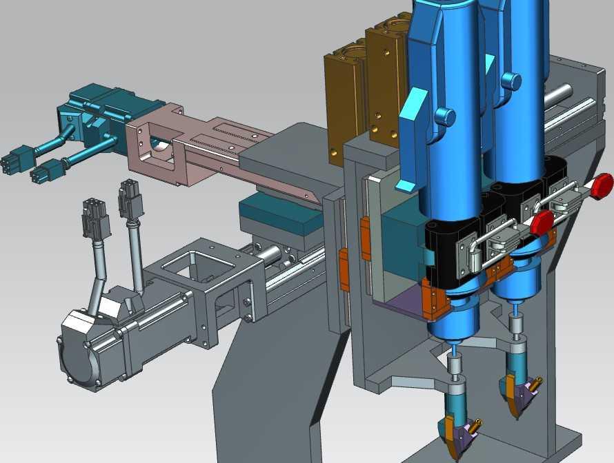 【艳丽】其它设备-吹气式自动锁螺丝机批嘴结构