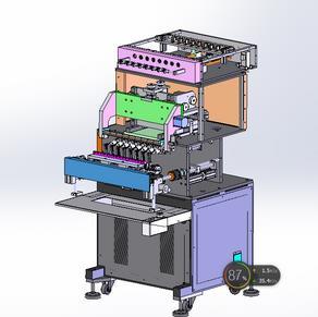 【中南】电子产品制造设备-8轴全自动绕线机