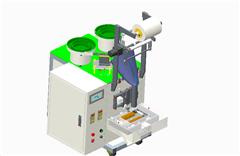 【鸿达】包装机械-自动螺丝包装机(双振动盘)PROE设计