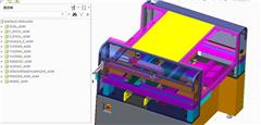 【鸿达】包装机械-SMD贴片机PROE设计