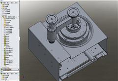 【鸿达】机床-精密研磨机模型