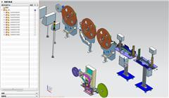 【鸿达】自动化设备-自动化模组包括收放料机与包装机