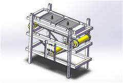 【鸿达】食品机械-食品包装组装线机设计模型