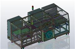 【鸿达】包装机械-往复式纸盒包装机/包膜机设备(全网最复杂的设备)