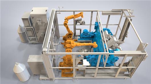 焊接机器人工作站组成