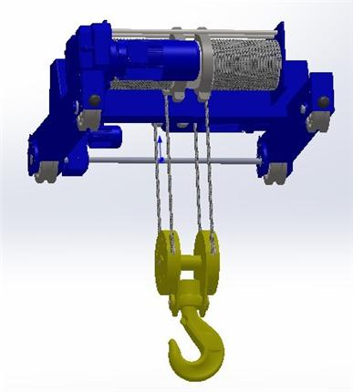 金发人体150第一名_60吨电动葫芦(下)3D模型下载_三维模型_SolidWorks模型 - 制造云 ...