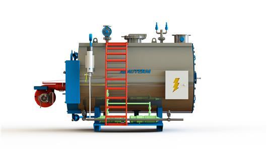 工业锅炉设备_工业锅炉三维模型3D模型下载_三维模型_IGES模型 - 制造云 | 产品模型