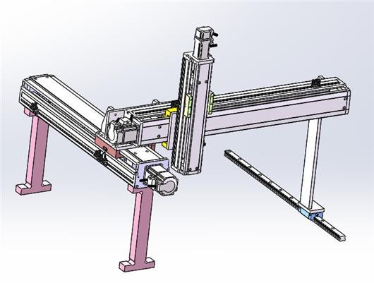 三轴点胶,焊接,搬运,检测,锁附机械手