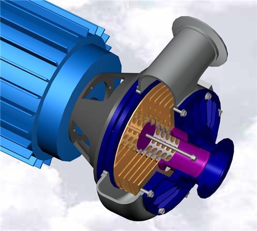 特斯拉涡轮_特斯拉涡轮泵3D模型下载_三维模型_SolidWorks模型 - 制造云 | 产品模型