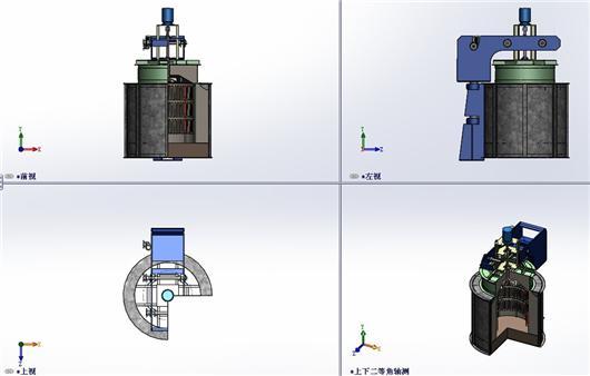 工业锅炉设备_【中南】工业锅炉及配件-熔炼炉设备3D模型下载_三维模型 ...