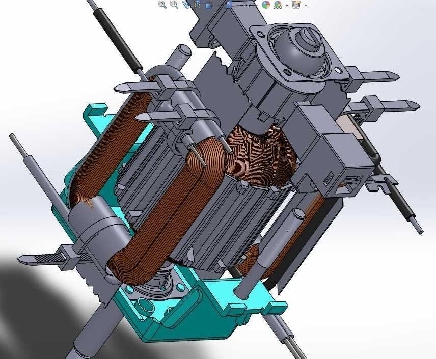 【艳丽】其它设备-电机内部定子转子结构