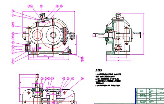 一级减速器夹具图_一级减速器装配图图纸下载_工程图纸_CAD图纸 - 制造云   工程图纸