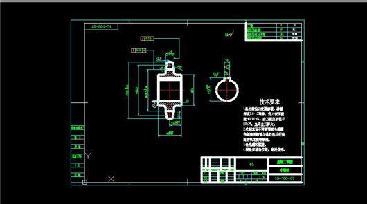 小工程链轮下载_造型女生_CAD图纸-制造图纸设计图纸图片